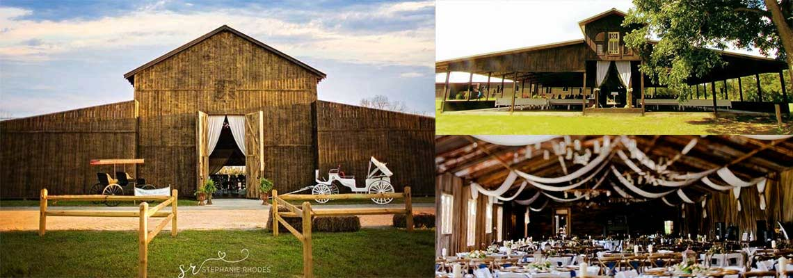 The Barn At Water Oaks Farm Premiere Venue Of The South East